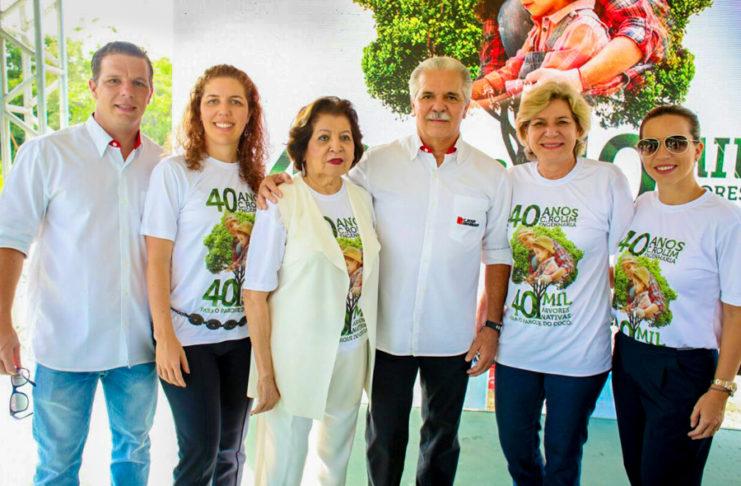 André, Ticiana E Edyr Rolim, Pio Rodrigues, Stella E Isabela Rolim