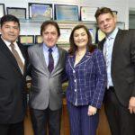 Carlos Mesquita, Adail Junior, Natecia E Jorge Luiz Aragão