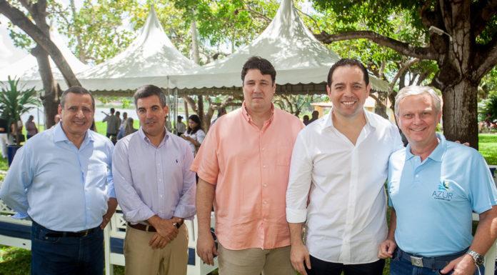 José Paranhos, Paulo Toledo, Aníbal Barroso, Irineu Guimarães E Pedro Bobroff
