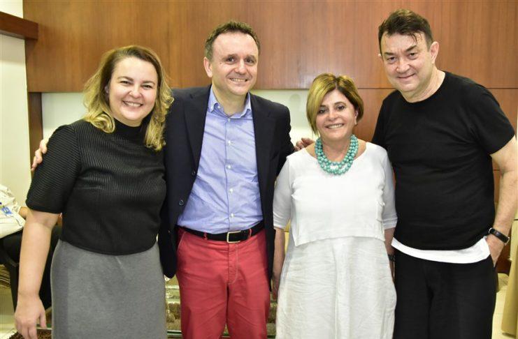 Kelly Whitehurst, Enrico Ciatta, Ilse Biason Guimarães E Walter Rodrigues (2)