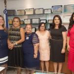 Larissa Gaspar, Lucimar Martins, Eliana Gomes, Marília Do Posto, Cláudia Gomes E Priscila Costa_