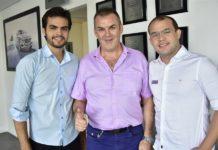 Lucas Avelino, Jhones Gas E Eduardo Weymar
