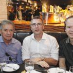 Magela Feliz, Carlos Pereira E Lisandro Fujita