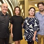 Silvio Frota, Renata Cravo, Paula Frota E Chistian Cravo