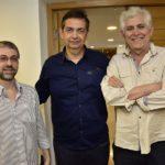 Telmo De Araujo, Fran Oliveira E Pedro Negreiros
