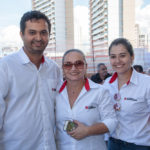Bruno Silva, Ana Lúcia Rocha E Viviane Avelino