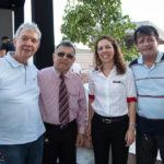 César Rêgo, José Augusto, Ticiana Queiroz Rolim E Jerônimo Neto