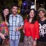 Carol Studart, Bruno Marques, Ana Paula Sales E Caio Sindou