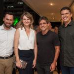 Felipe Abud, Mônica Heuser, Adalberto Mota Machado E Cláudio Barreira
