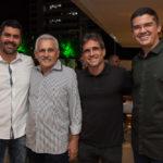 Felipe e Emanuel Capistrano, Adalberto Mota Machado e Cláudio Barreira_