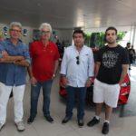 Alexandre Romcy, Geraldo Aguiar, Silvio Camelo E Pulo Salim
