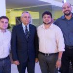 Arthur Marinho, Odilon Peixoto, Novack Neto E Cleilton Pessoa (3)