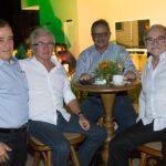 Claudio Targino, Alfredo Couto, Emílio Moares E Ednilton Soares (3)