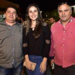 Enoque Junior, Carine Rocha E Márcio Ramos
