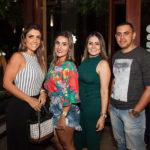 Gabriela, Fernanda, Natasha E Thiago Montenegro
