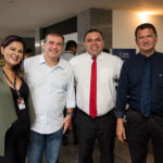Patrícia Rocha, Ricardo Bezerra, Aurélio Paiva E Eduardo Pimentel