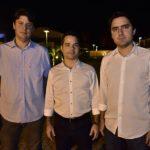 Ricardo Ary, Felipe Ferreira E Fernando Castelo Branco