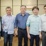 Sampaio Filho, Ireu Madeira, Ricardo Cavalcante, Edgar Gadelha E Andre Siqueira