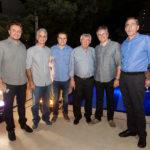 Adriano Nogueira, Stênio Martins, César Faim, Roberto Macêdo, Igor Martins E Gerardo Jereissati_