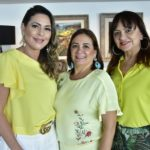 Bêbora Nibom, Cristina Albuquerque e Carmem Cinira