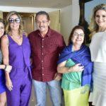 Tatiana Luna,Itála Padilha, Walter Amaral, Mana Luna e Raquel Cavalcante
