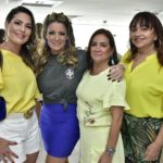 Bêbora Nibom, Tatiana Luna, Cristina Albuquerque e Carmem Cinira