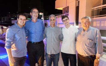 César Faim, Gerardo Jereissati, Stênio E Luca Martins, Roberto Macêdo 2