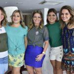 Cecília Da Fonte, Manuela Ronce, Tatiana Luna, Gisela Dias Branco E Mirna Paz