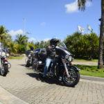 Clientes Harley Davidson, Chegando Para O Test Drive Da Lexus (1)