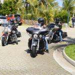 Clientes Harley Davidson, Chegando Para O Test Drive Da Lexus (4)