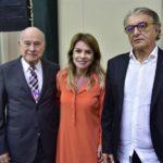 Guilhemo Alcorta, Jeanine Pires E Arialdo Pinho