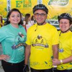 Jeana Felipe, Franzé Ponte E Elda Queiroz (2)