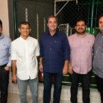 Ladislau Nogueira, Francisco Hissa, Kalil Otoch, Adriano Alves E Fábio Hiluy