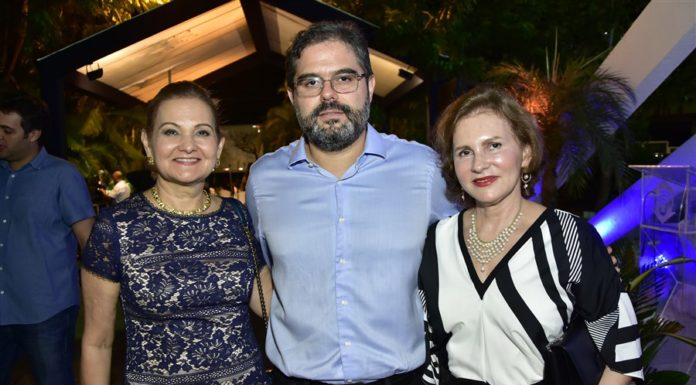 Lenise Queiroz, Edson Queiroz Neto E Renata Queiroz Jereissati