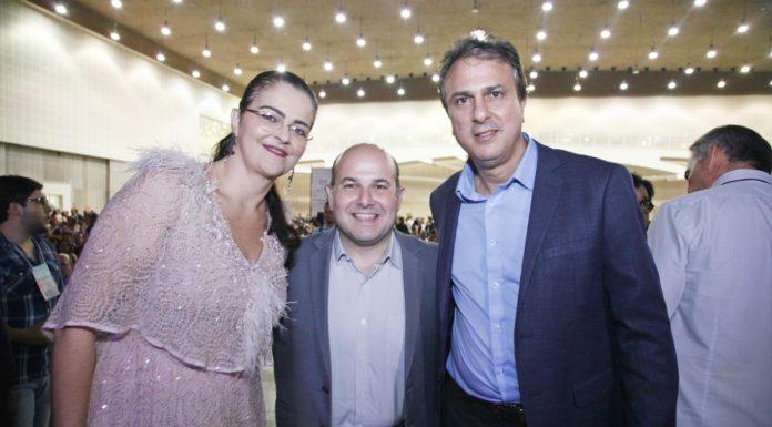 Luciana Dummar, Roberto Claudio E Camilo Santana
