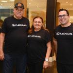 Luiz Gonzaga, Izeuda Evangelista, Rodrigo (vendedor Lexus) (2)