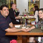 Marcos Saraiva E Juliana Viana