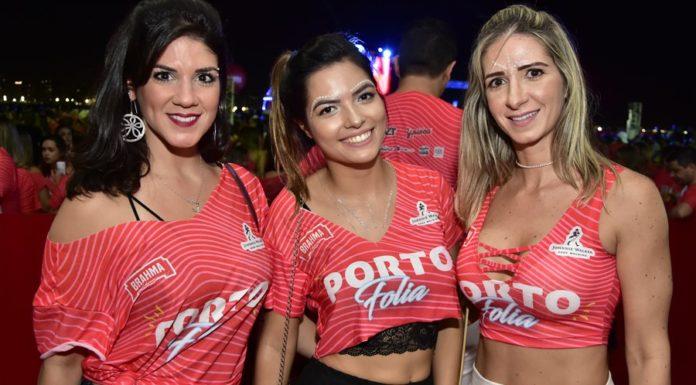 Natalia Porto, Amanda Vasconcelos E Cinara Teixeira