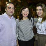 Ozires Pontes, Gina Pompeu E Beatriz Pontes