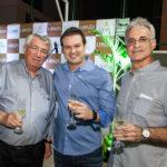 Roberto Macêdo, César Faim E Stênio Martins