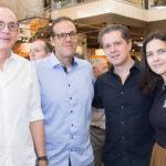 Sérgio Fiuza E Sérgio Campos, Lívio Parente E Joana Ramalho
