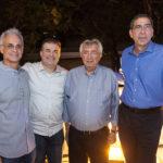 Stênio Martins, Ricardo Bezerra, Roberto Macêdo E Gerardo Jereissati