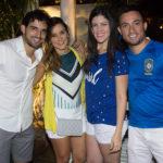 Álvaro Carvalho, Carol Barcelar, Leilane Magalhães E Emanuel Feijó