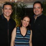 Andrade Mendonça, Manuella Brandão E Thiago Holanda