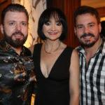César Martins, Suely Falcão E Miguel Dias Filho