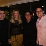 Danilo, Patrícia Dias, Dito Machado E Francisco Campelo