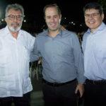 Eudoro Santana, César Ribeiro E Silvio Carlos (1)