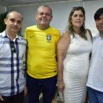 Evaldo Vasconcelos, Deri Muniz, Cláudia Oliveira E Gledson Muniz