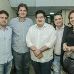 Felipe Esteves, Fernando Laureano, Iure Torquato, Ricardo Drear E Alerteia Lopes (2)
