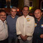 Francisco Fonteles, Marco Prado, Plínio Sabóia E Chico Campos